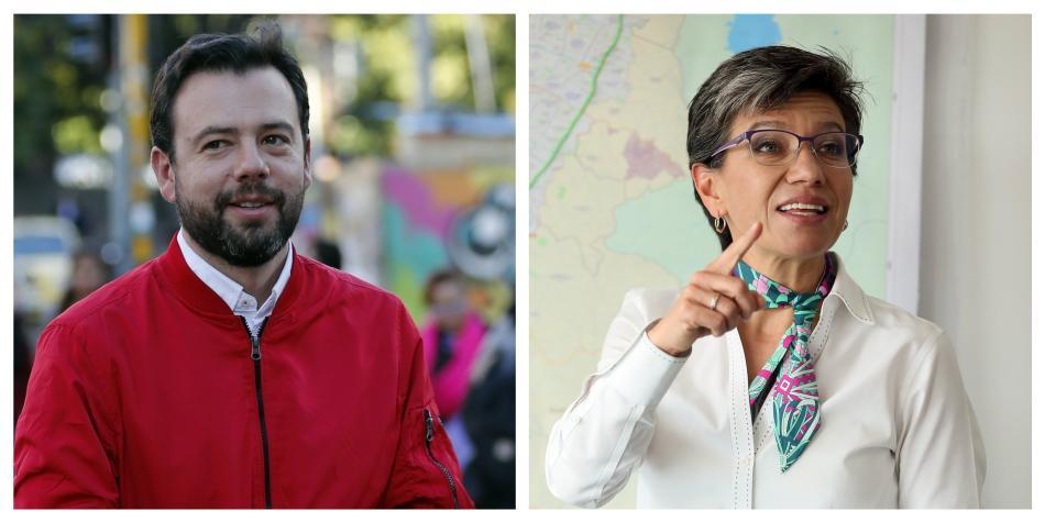 Duro cruce de mensajes entre Carlos Fernando Galán y Claudia López