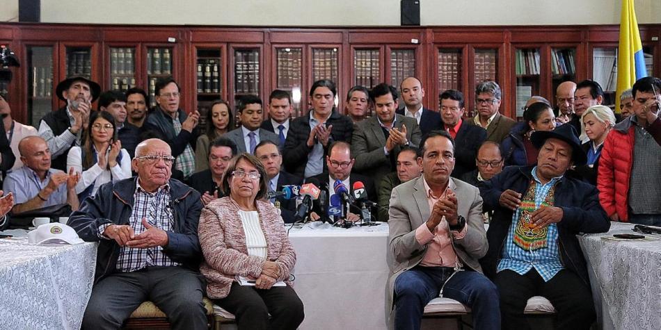 Comité del paro pide al Presidente dialogar 'directamente' con ellos
