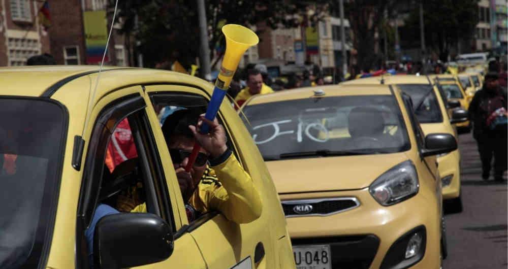 Gremio de taxistas irá a paro nacional