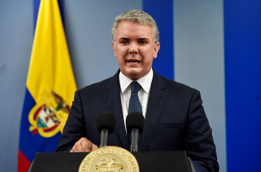 Presidente Duque declara la emergencia sanitaria en Colombia por coronavirus