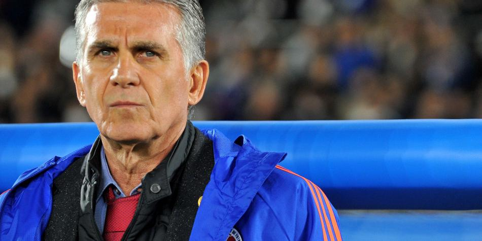 Queiroz y su primer año dirigiendo partidos de la Selección Colombia