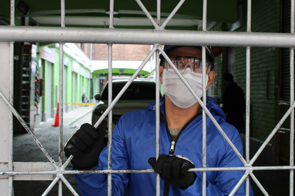 Colombia suma 43.682 casos confirmados de coronavirus